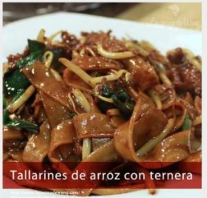 tallarines con ternera - copia
